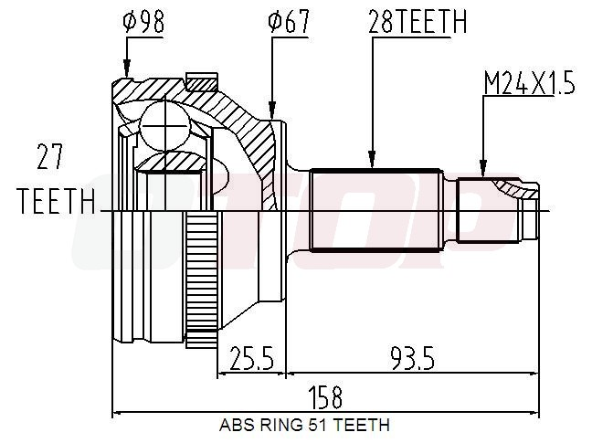 daihatsu camshaft position sensor
